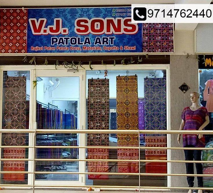 Get up to 50% OFF on Patola Sarees, Dupattas & More! Address- FF-118, Titanium City Centre,Nr.Sachin Tower,100Ft Anandnagar Road Satellite, Ahemedabad. Time- 11Am to 8:00Pm Call- 9714762440  #Fashion #Clothing #Saree #Sale #PatolaSarees #Dupattas #Shawls #ChaniyaCholis #DressMaterials #VJSONSPATOLAART #CityShorAhmedabad