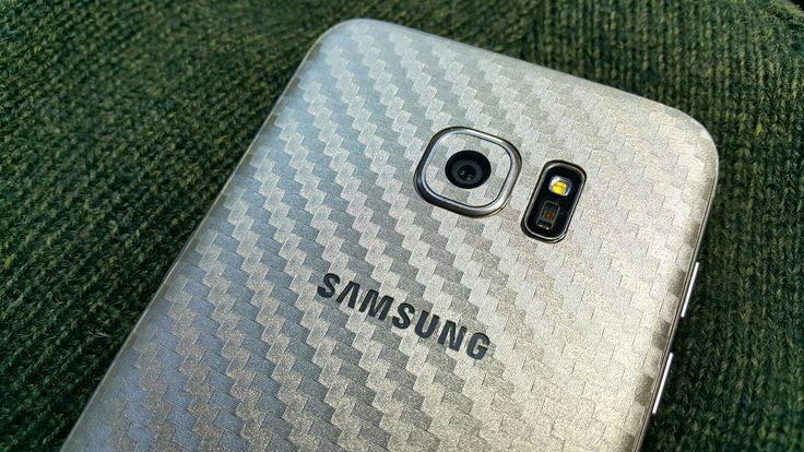 Folii Carbon 3M Gold Samsung Galaxy S6