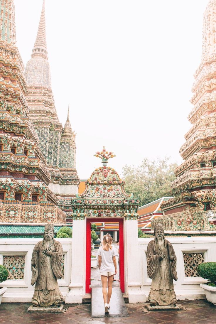 Bangkok, Thailand | The ancient, mystical temple of Wat Pho is famous for a 46-meter-high reclining golden statue of Buddha. Cruise with Royal Caribbean to Bangkok and enjoy a world-class Thai massage in the epicenter of the traditional massage world, or journey beyond Pattaya to the Wat Yansangwararam temple.