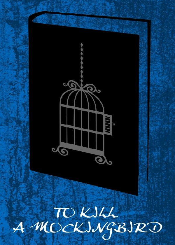 To Kill A Mockingbird Poster by Emily Pigou #book #cover #tokillamockingbird #cage #poster #displate #minimal #emilypigou #gifts #words  #poster #displate #minimal #emilypigou #gifts #words #modern #geek #nerd #geekgifts #scifigifts #homedecor #homegifts #bedroom #bookcoverposter #bookposter #minimalposter #minimalmovieposter #minimaldecor #homegifts #bookworm #booklovers #bookloversgifts #bookgifts #buyposters