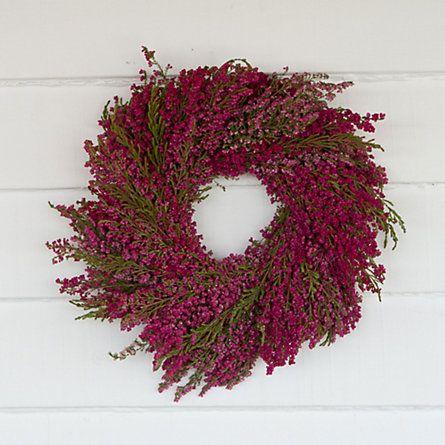 Heather Wreath in Gardening PLANTS Wreaths at Terrain $48