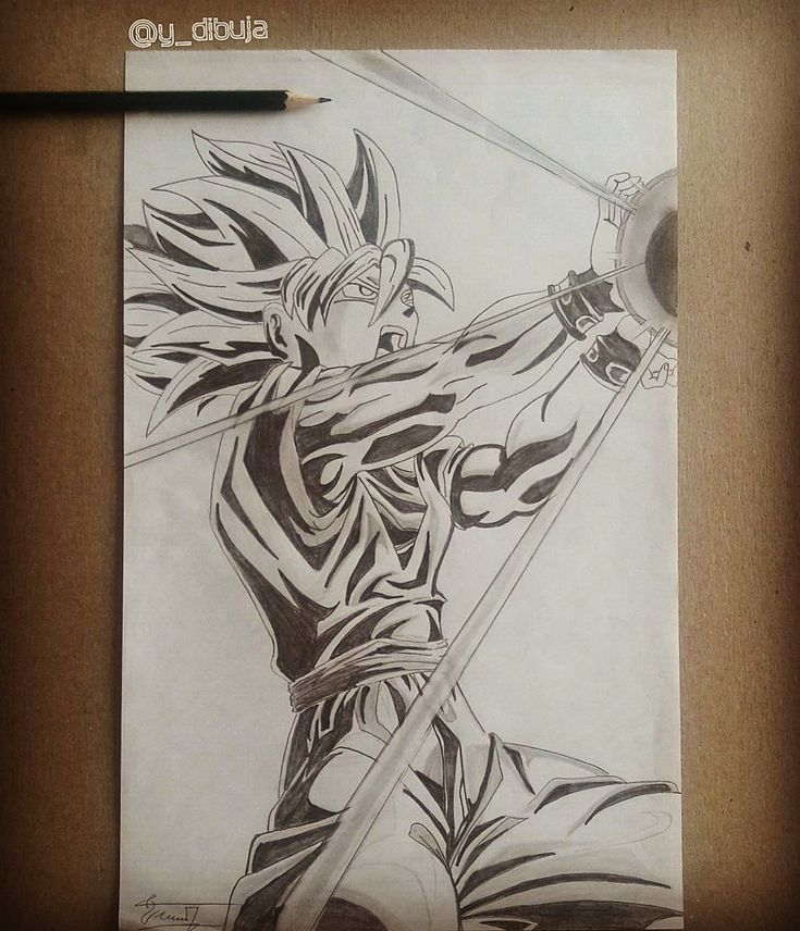 how to draw the kamehameha