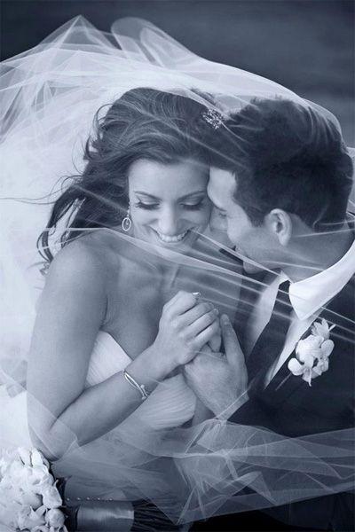 Under the Veil - The Most Romantic Wedding Photos