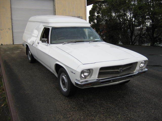 HQ Holden Belmont Panel Van