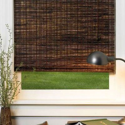 Our Deluxe Woven Wood Shades collection features complex textures, exotic reeds, grasses, woods, and sophisticated natural colors that will transform your room from dull to striking.