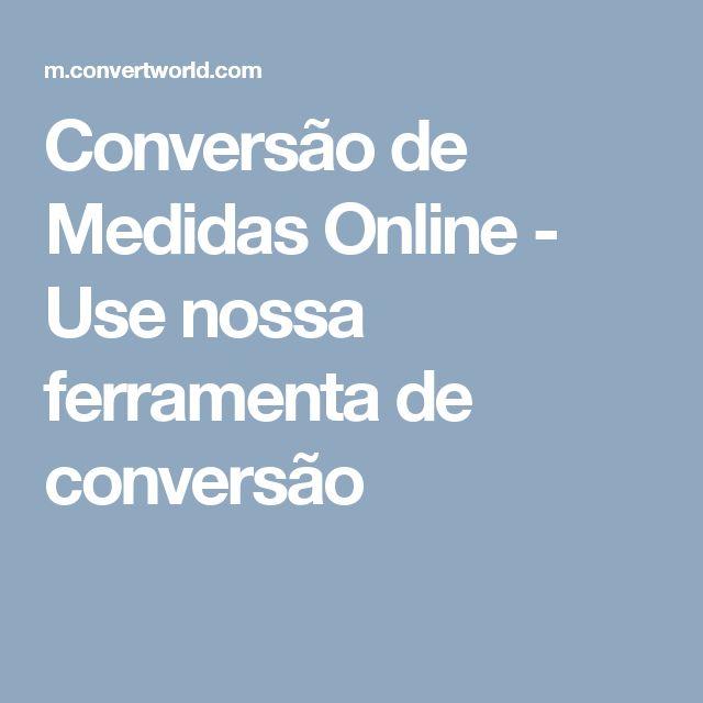 Conversão de Medidas Online - Use nossa ferramenta de conversão