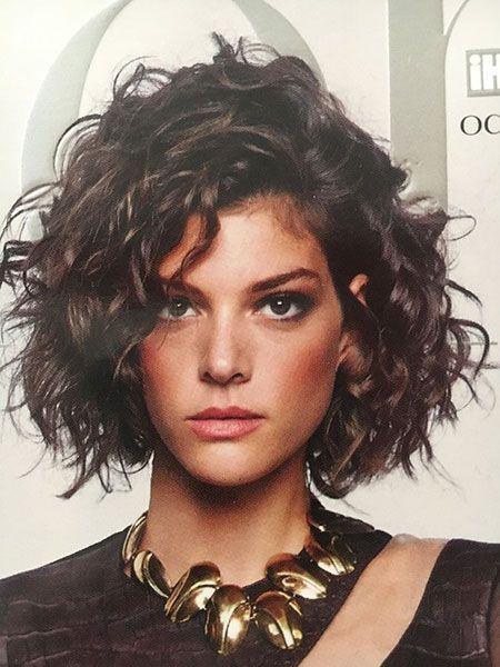20 schicke kurze lockige Frisuren für Frauen