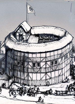 Dr Duncan Salkeld discovered part of the evidence in the diary of Philip Henslowe, the theatre owner who built the Rose Theatre (right) and whose acting company was a rival to Shakespeare¿s