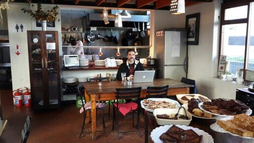 Empire Cafe in Muizenberg, Cape Town #capetown #coffeeshop #muizenberg