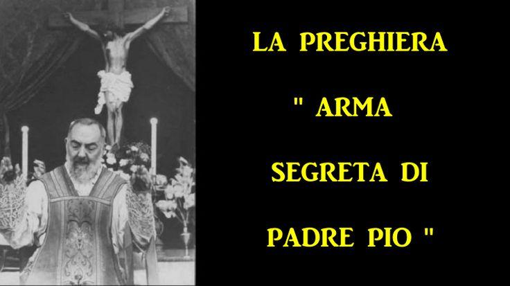 Questa potente preghiera è stata recitata ogni giorno da Padre Pio per tutti coloro che hanno chiesto le sue preghiere. Egli ha portato migliaia di miracol