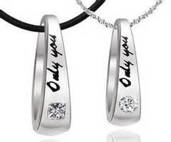 cute couples necklace - - Yahoo Image Search Results