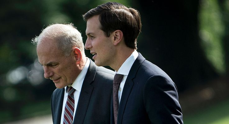 Kelly and Kushner stuck at an impasse after Trump's punt on clearance