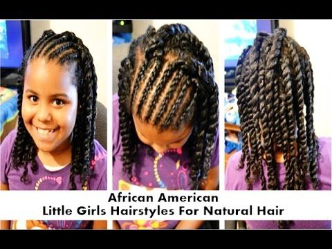 African American Little Girls Hairstyles For Natural Hair