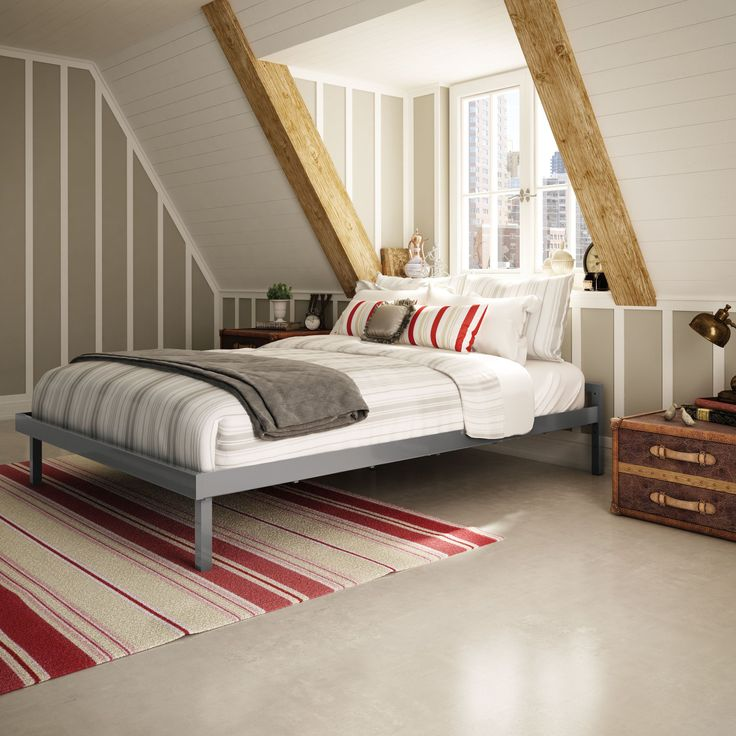 ceiling compartment ideas - Best 25 Sloped ceiling bedroom ideas on Pinterest