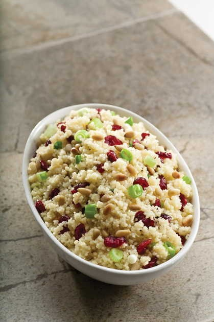 Couscous with Dried Cranberries and Pine Nuts recipe from 'Fresh ...