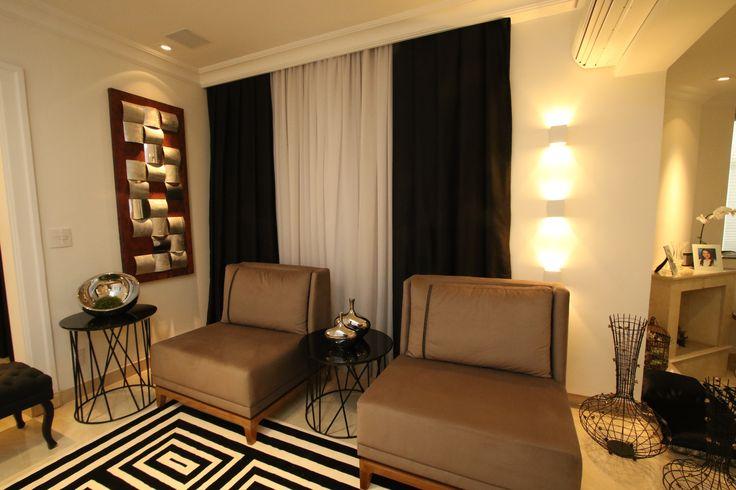 projeto almeria, projeto sala de estar, living, decoração de interiores. Projeto de Arquiteta Cristiane Vassoler