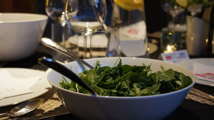 Two minute green salad - with a dressing to die for! #afreerangelife @Annabel Langbein
