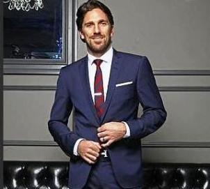 Henrik Lundqvist. I had an opportunity to sit down and talk life with this incredibly stylish and talented man in April 2014 here in Calgary. Love his style. And he's a true gentleman.