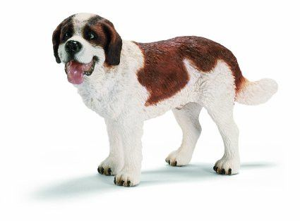 St. Bernards are very patient and empathetic and they love children. They are like giant stuffed animals, to which one can snuggle up wonderfully while reading or watching television. Even when they a