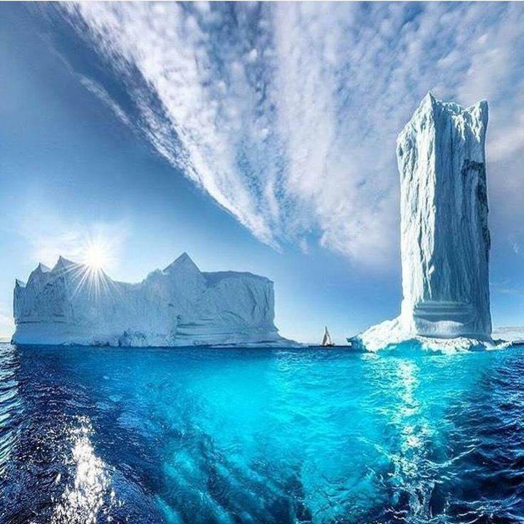 Tour de glace au Groenland