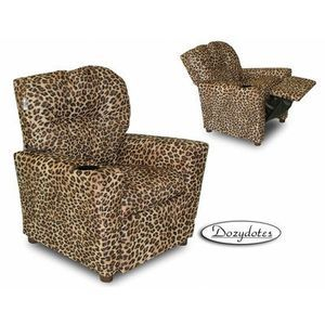 Dozy Dotes Cup Holder All Cheetah Print Micro Suede Kidsu0027 Recliner.  sc 1 st  Pinterest & 126 best Animal Print Chairs images on Pinterest | Animal prints ... islam-shia.org