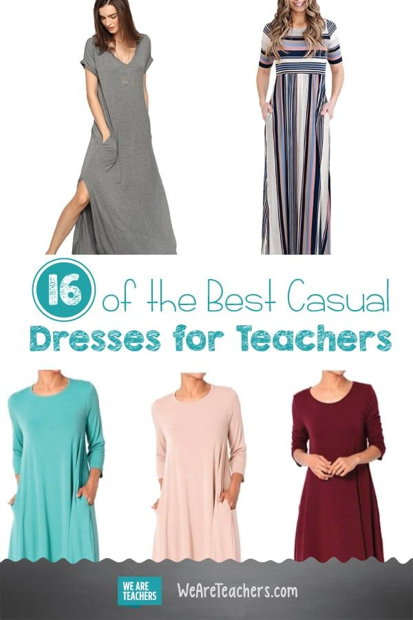 16 Of The Best Casual Dresses With Pockets For Teachers Best Casual Dresses Casual Dresses Mini Dress Casual