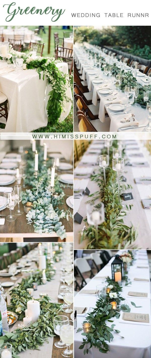 60 Greenery Wedding Ideas For Your Big Day 2020 Wedding Table
