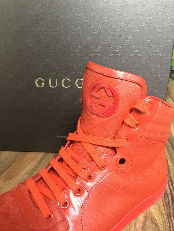 Gucci Herrenschuhe Gr. 42 Wie Neu !! Sneaker  | eBay