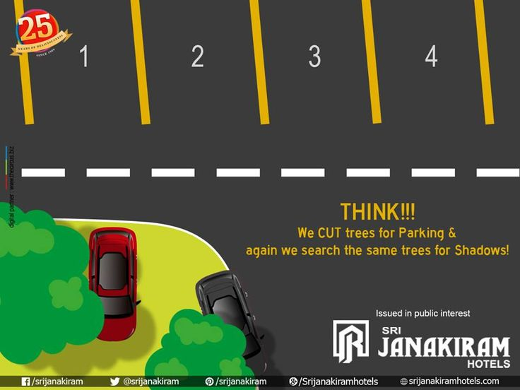 We CUT trees for Parking & again we search the same Trees for shadows! THINK! #SAVE_TREES!! #save_environment #save_earth ##savetree