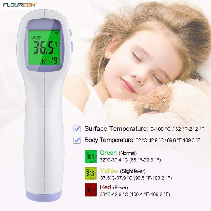 buy on wallmart.win PC868 Infrared Thermometer Gun Professional Digital LCD Non-contact IR Temperature Measurement Device Diagnostic Tools