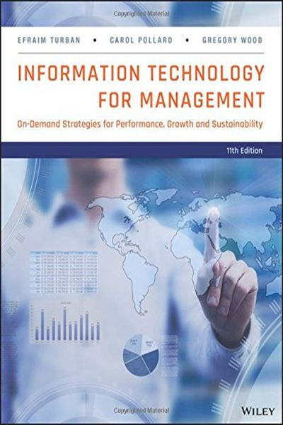 Information Technology for Management: On-Demand Strategies for Performance, Growth and Sustainability – Efraim Turban