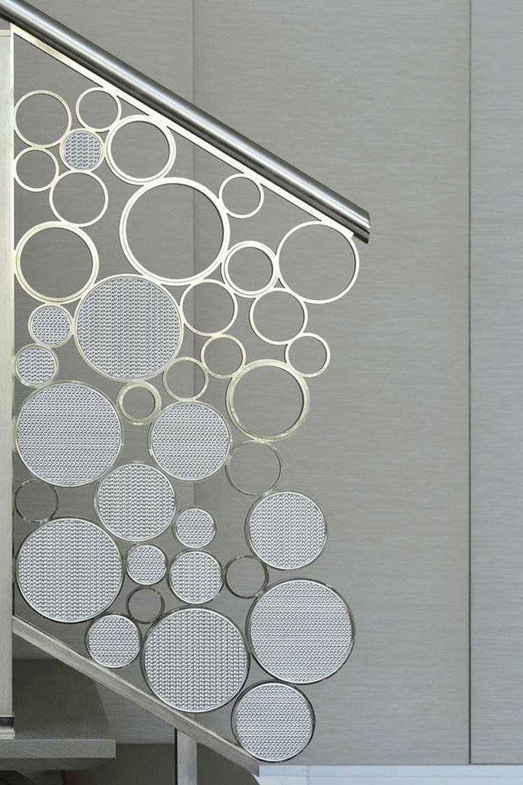 Corrimano e ringhiere per scale internedal design moderno n.07