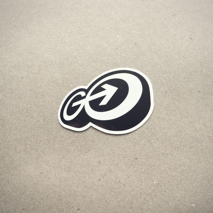 Gomedia logo 30 creative examples of sticker design