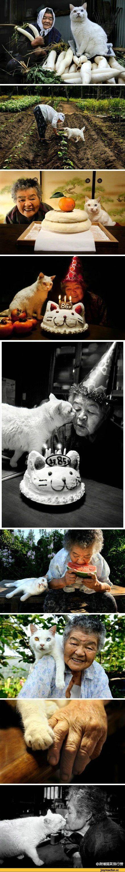 by Miyoko Ihara from photo book 'Misao to Fukumaru ( Misao and Fukumaru) '
