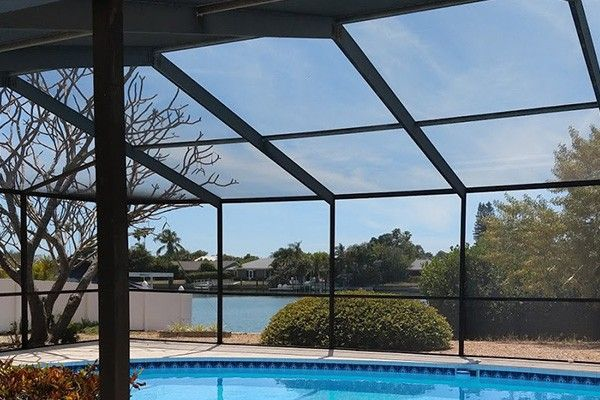 Build Pool Enclosure Patio Screen Enclosure Screen Enclosures Install Screen Door