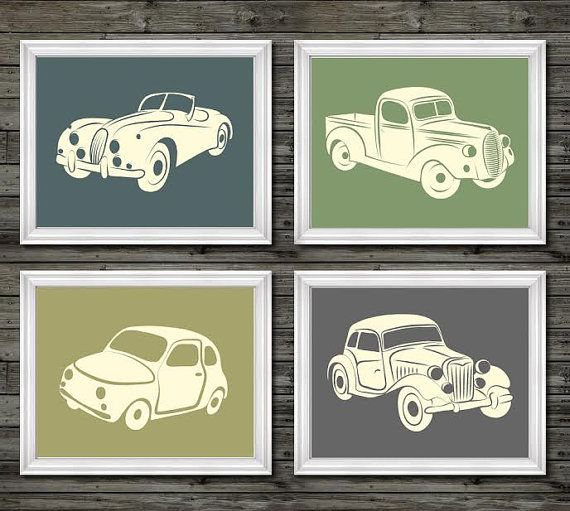 Hey, I found this really awesome Etsy listing at https://www.etsy.com/listing/229769373/vintage-car-and-truck-decor-vintage