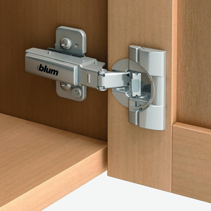 Blumu0027s 71B9550 CLIP Top BLUMOTION 95° Thick Door Hinge Features The  BLUMOTION Soft Close Mechanism