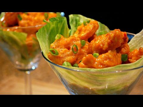Easy Dynamite Shrimp Recipe - PF Chang's Style - YouTube