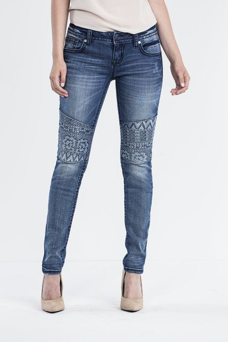 """Check out """"In The Mix Skinny Jeans"""" from Miss Me"""