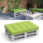 Palettenkissen Kissen Palettensofa Palettenmöbel Palette Couch Sofa Grün
