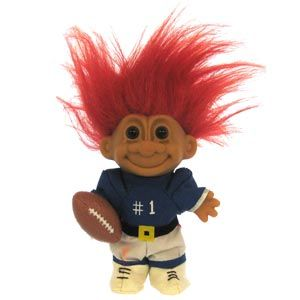 Russ Football Troll Doll