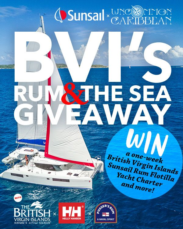 Win a 7-Day Rum Flotilla Trip to the BVI!