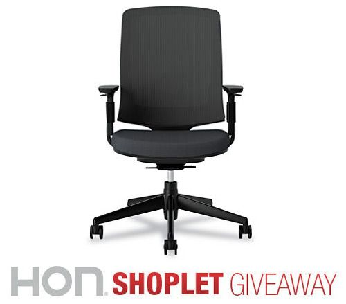 Shoplet.com is giving away a Lota chair sponsored by HON! Here's how to win: Follow Shoplet on Pinterest, repin this post, go to the Shoplet Blog before July 29th & tell us why you want this amazing #giveaway!