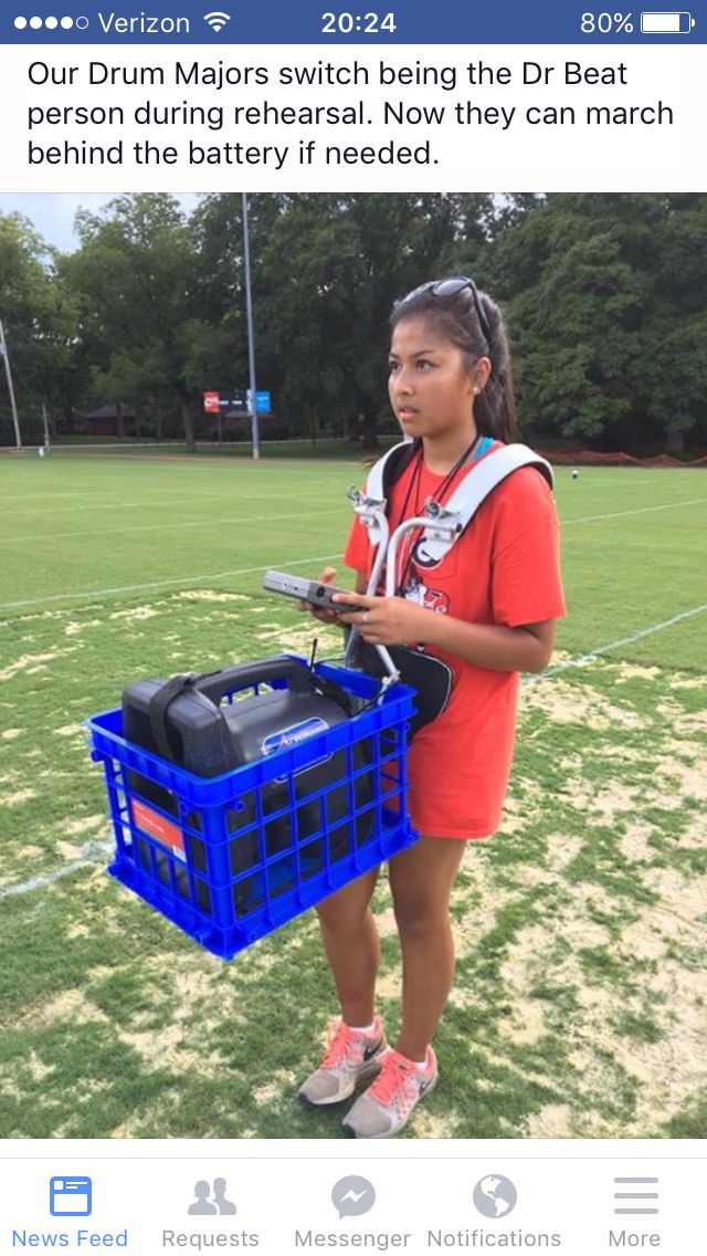 Drum Major Crate Solution