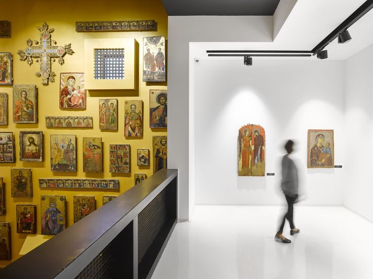 BOLLES+WILSON, Roman Mensing · Korca Icon Museum