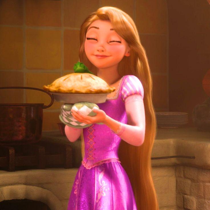 S'occuper comme on peut... Raiponce à choisie les gâteaux ! Comment elle fait pour être aussi mince après  ?