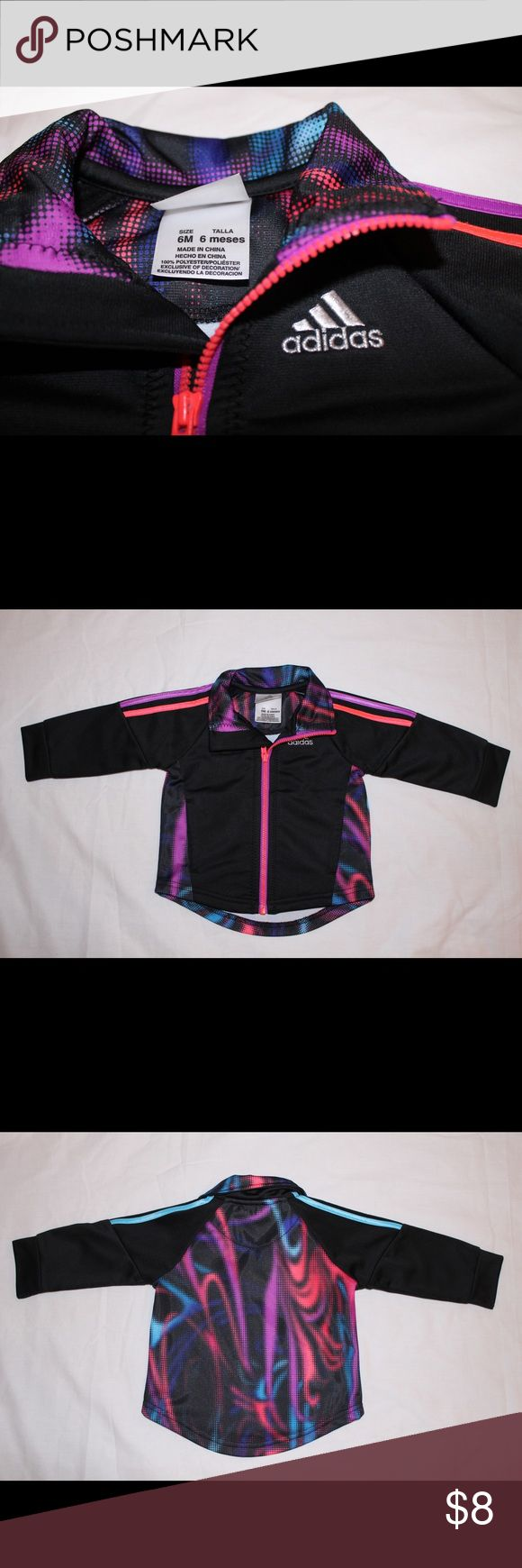 Colorful Adidas Jacket sz 6m Infant Adidas Jacket size 6 months Adidas Jackets & Coats