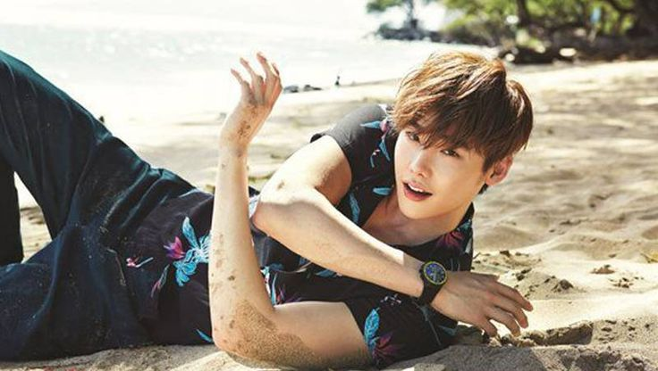 Lee Jong Suk is dreamy in summer shoot with 'Allure' | allkpop.com