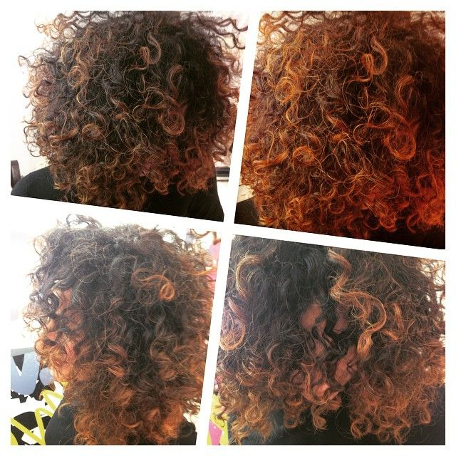 Curlystyle #ricciricci #hairartcolor ❤️❤️ #baricool  #sebastianstyling #capelli #bari #qualityhair #chiarahairstyle