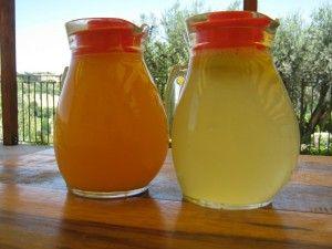 Ace e limonata fatta in casa - Homemade fresh juices and lemonade - Naturalmente feliceNaturalmente felice